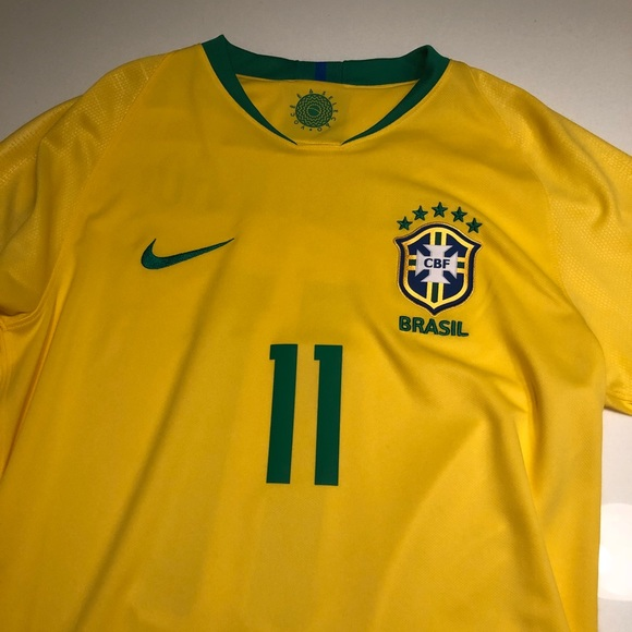huge discount ca658 013be World Cup Brazil Nike Authentic Coutinho Jersey
